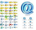 Email Icon Set Screenshot 0