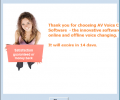 AV Voice Changer Software Screenshot 2
