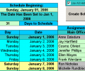 Create Floor Schedules for Your Agents Screenshot 0