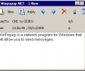 Winpopup NET messenger Screenshot 0