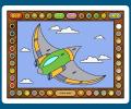Coloring Book 12: Airplanes Screenshot 0