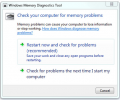 Microsoft Windows Memory Diagnostic Screenshot 1