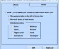 MS Word 2007 Ribbon To Old Classic Menu Toolbar Interface Software Screenshot 0