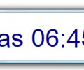 Configurable Desktop Clock Screenshot 0