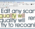 Scanned Text Editor Screenshot 0