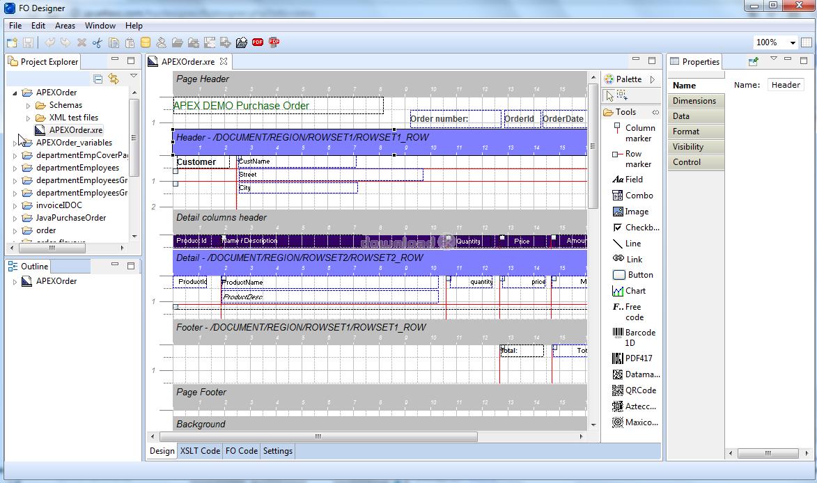 Descargar J4L FO Designer 2.2.0 Licencia Commercial - XSL-FO ...