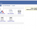 PHP AdminPanel Website Back End Script Screenshot 0