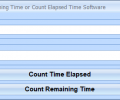 Countdown Remaining Time or Count Elapsed Time Software Screenshot 0