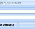 MS Access Save Binary Data As Files Software Screenshot 0