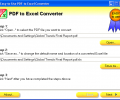 Easy-to-Use PDF to Excel Converter Screenshot 0