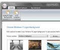 Windows 7 or Vista Login Screen Changer Screenshot 0