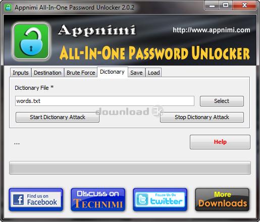 Unlock Zip Password in Software Title